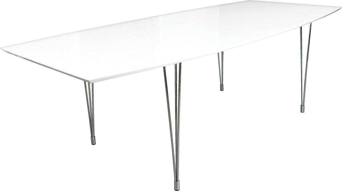 Thor konferencebord 240x110/90, hvid
