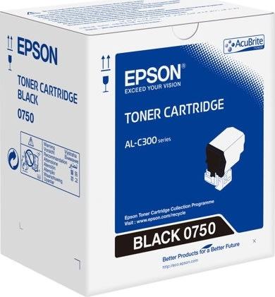 Epson C13S050750 lasertoner, sort, 7300s