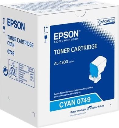 Epson C13S050749 lasertoner, blå, 8800s