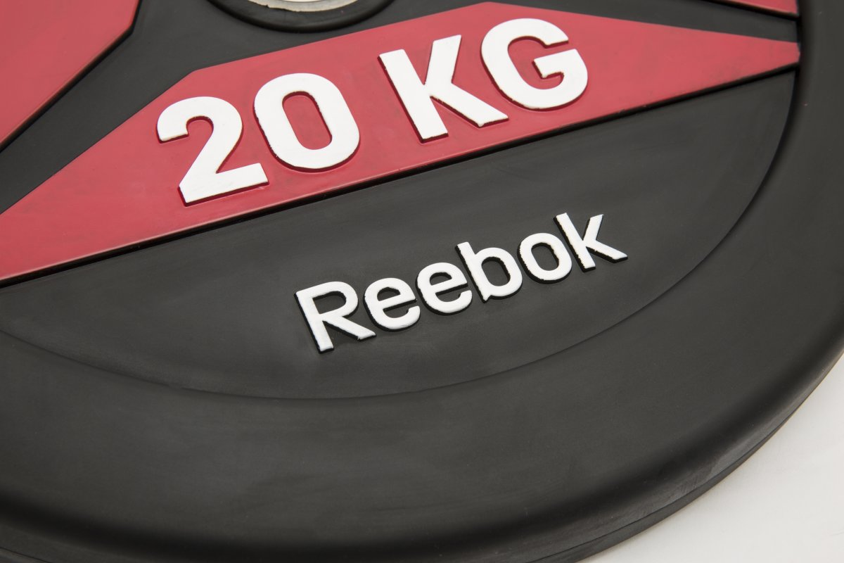 Reebok Functional BumperPlate, 20 kg