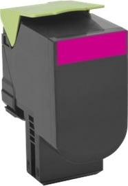 Lexmark 70C0H30 Lasertoner, rød, 3000s