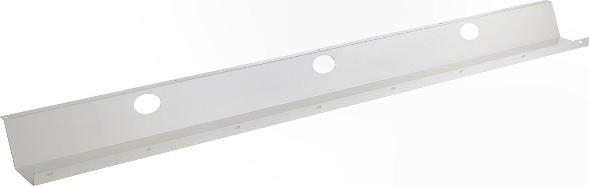 Kabelbakke L 147 cm hvid