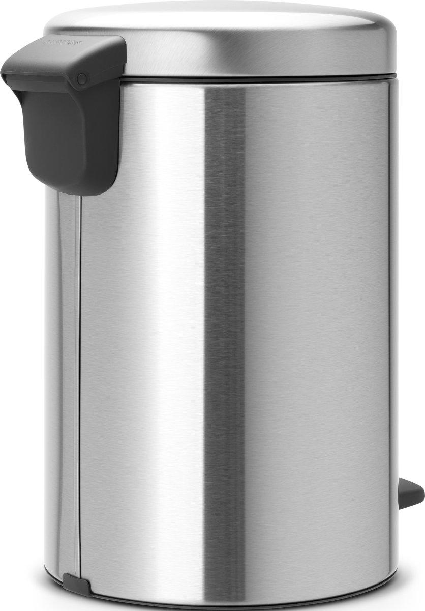 Brabantia Pedalspand, 12 L, matt steel FPP
