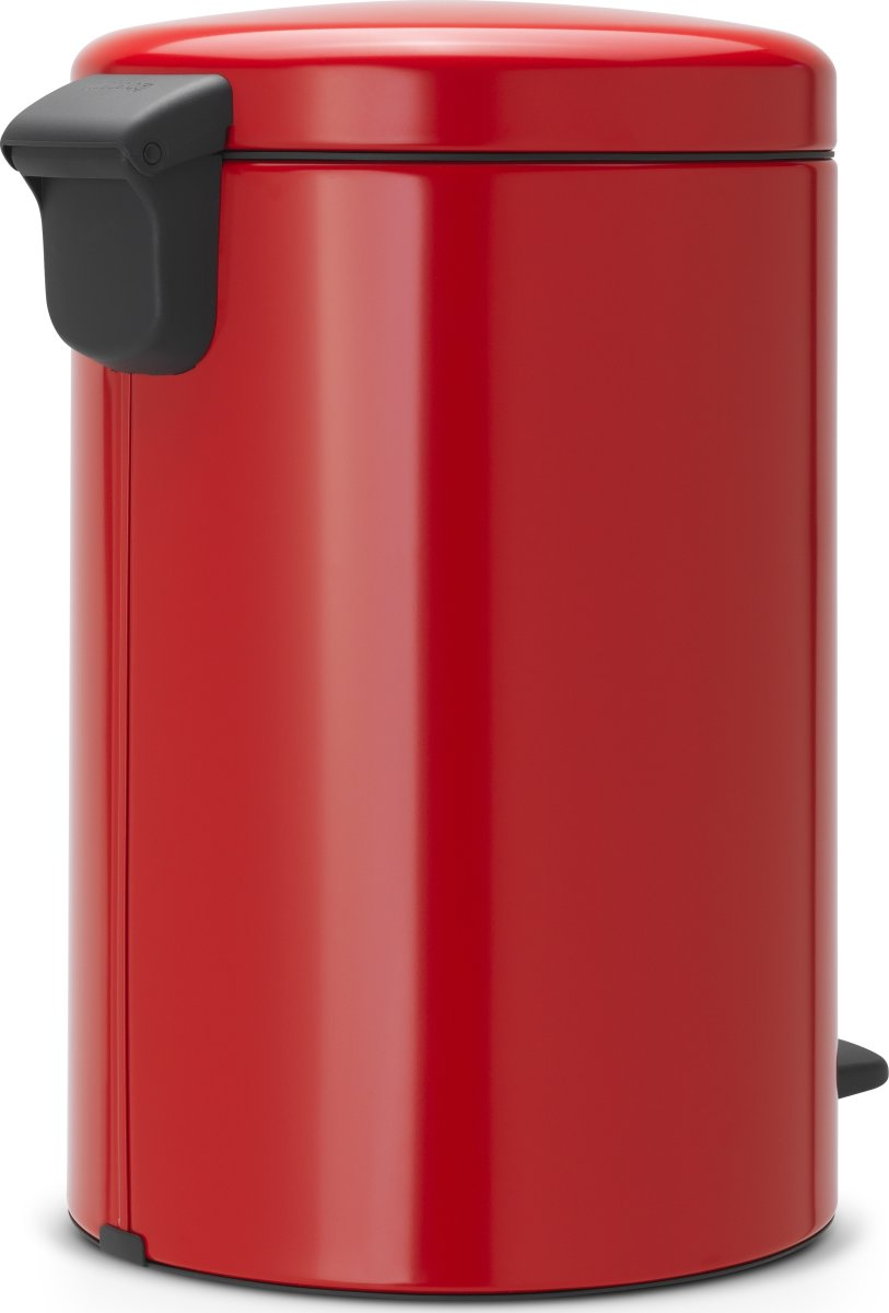 Brabantia Pedalspand, 20 L, passion red