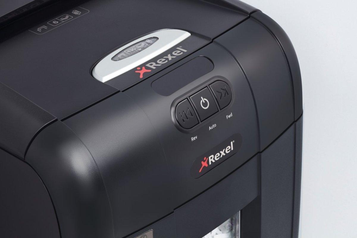 Rexel Auto+ 130M konfetti mikromakulator