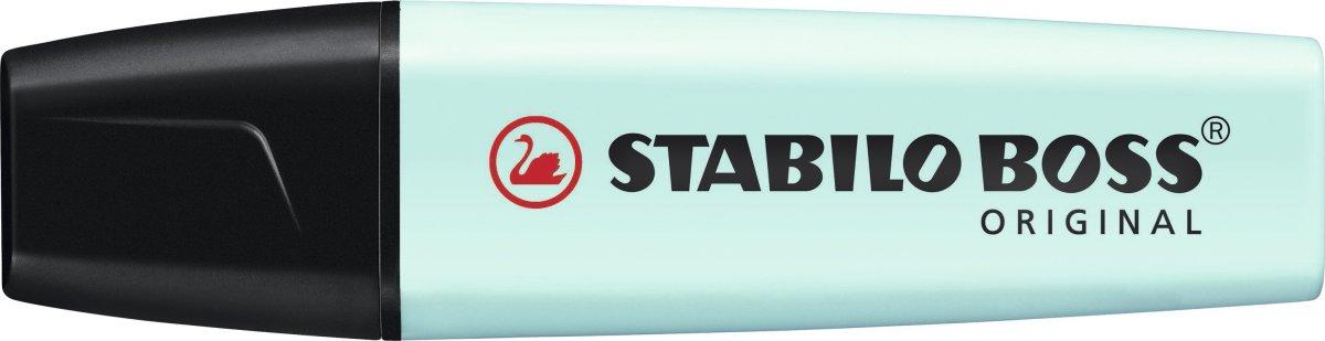 Stabilo Boss  Pastel overstregningspen, lys turkis