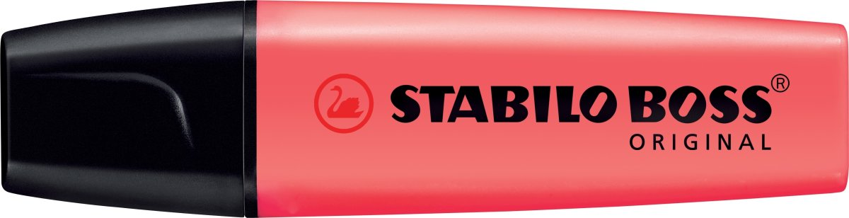 Stabilo Boss 70/40 overstregningspen, rød