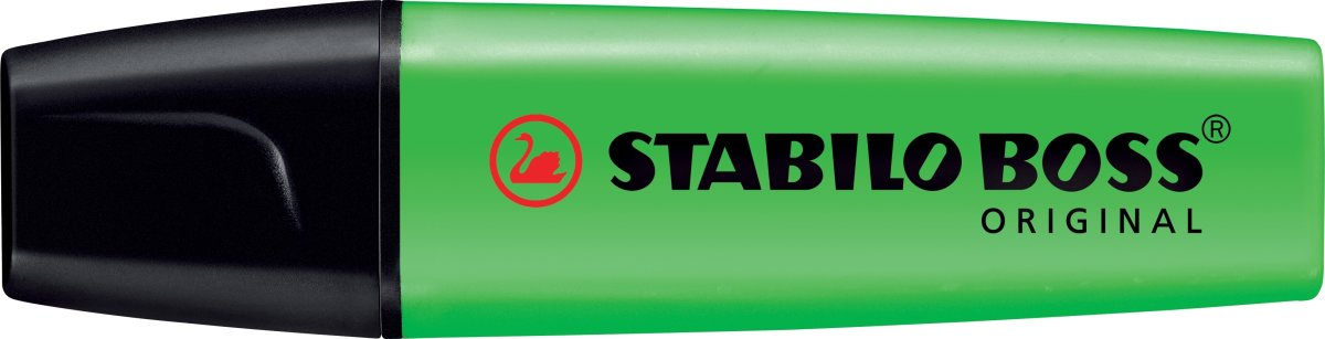 Stabilo Boss 70/33 overstregningspen, grøn