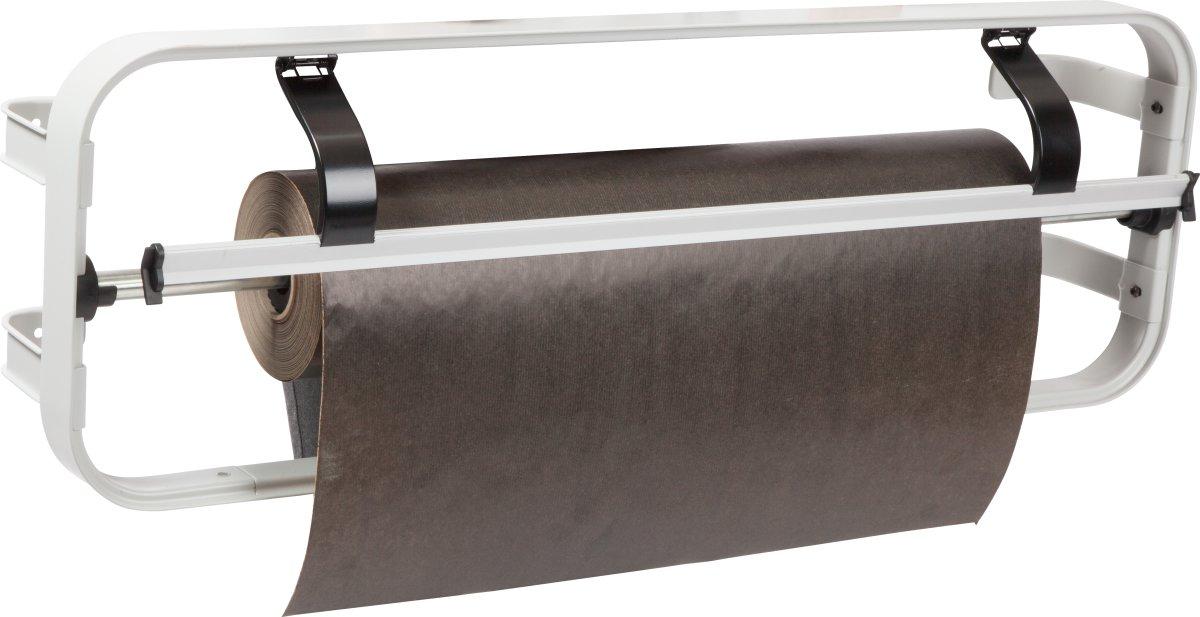 Stativ til gavepapir, væghængt model, 80 cm