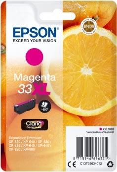 Epson C13T33634022 blækpatron, rød XL