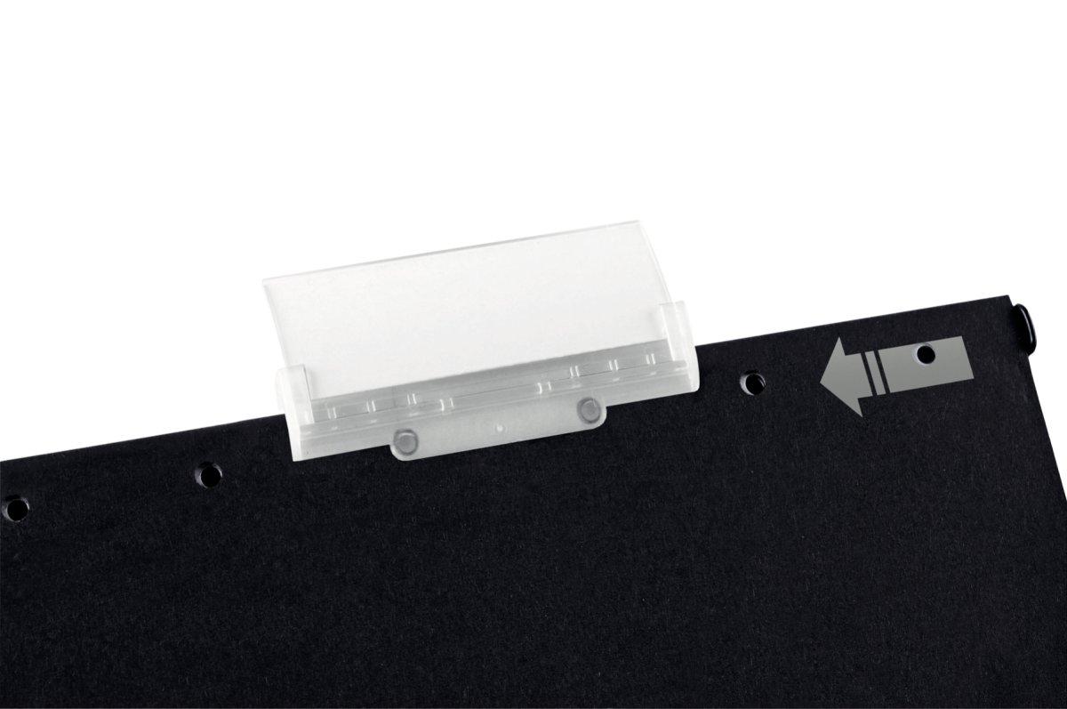 Plastfane til Leitz Alpha Active, hård, (5 stk.)