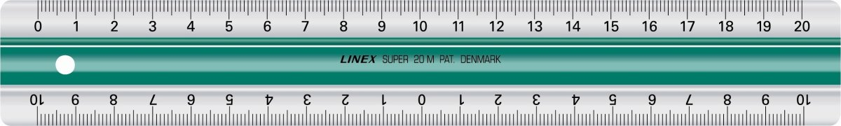 Linex S20MM superlineal, 200 x 33mm
