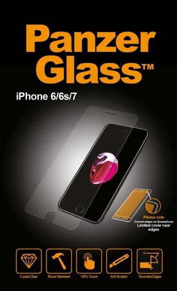 PanzerGlass skærmbeskyttelse til iPhone 6/6S/7