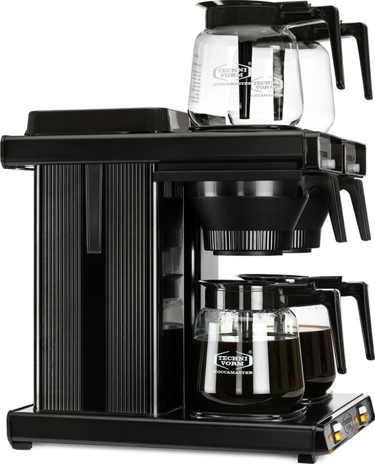 Moccamaster Moccafour Black Autofill kaffemaskine