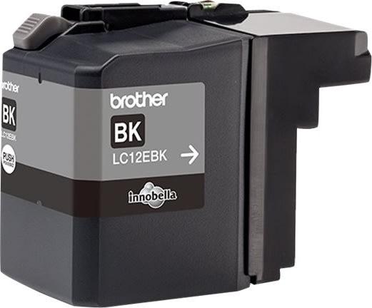 Brother LC-12EBK XL blækpatron, sort, 2400s