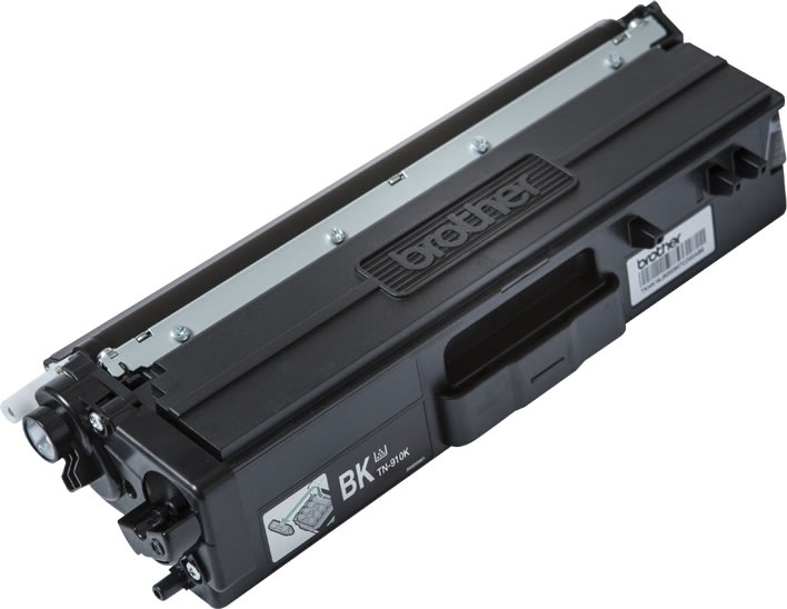 Brother TN-910BK Lasertoner, sort, 9.000 sider