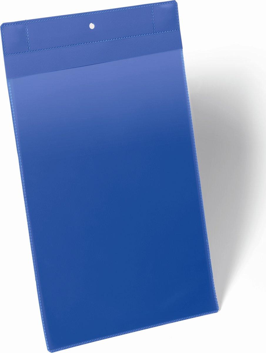 Durable Lagerlommer m/supermagnet, A4 højformat