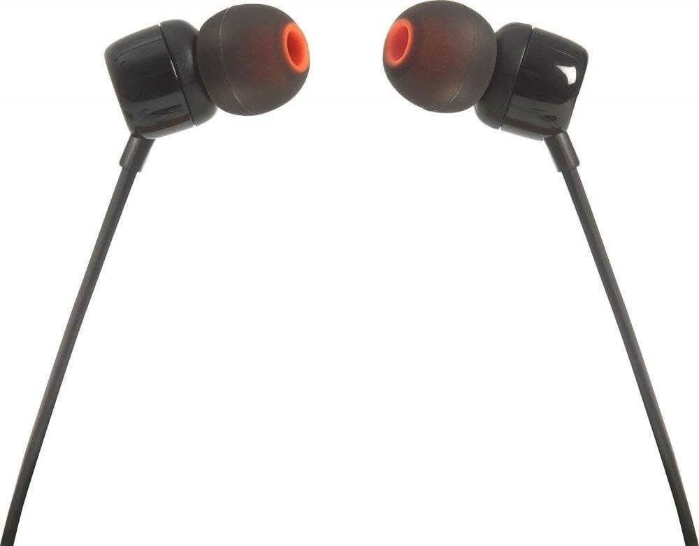 JBL T110 In-ear øretelefoner i sort