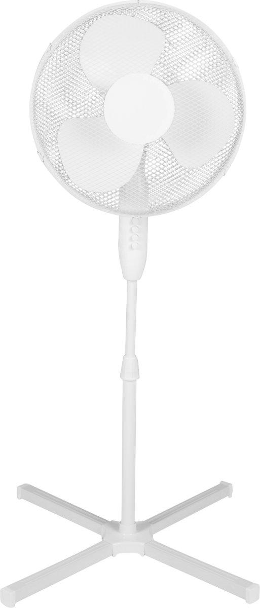 Max Gulvventilator 40 cm, hvid