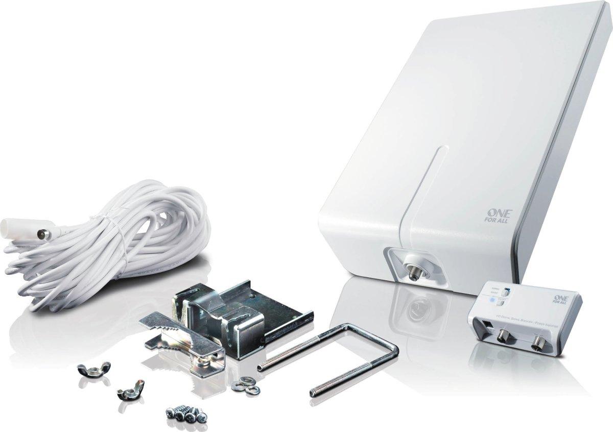 One For All SV 9455 udendørs aktiv antenne, 52 dB