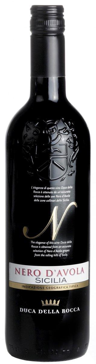 Duca della Rocca Nero D'Avola Sicilia IGT, rødvin