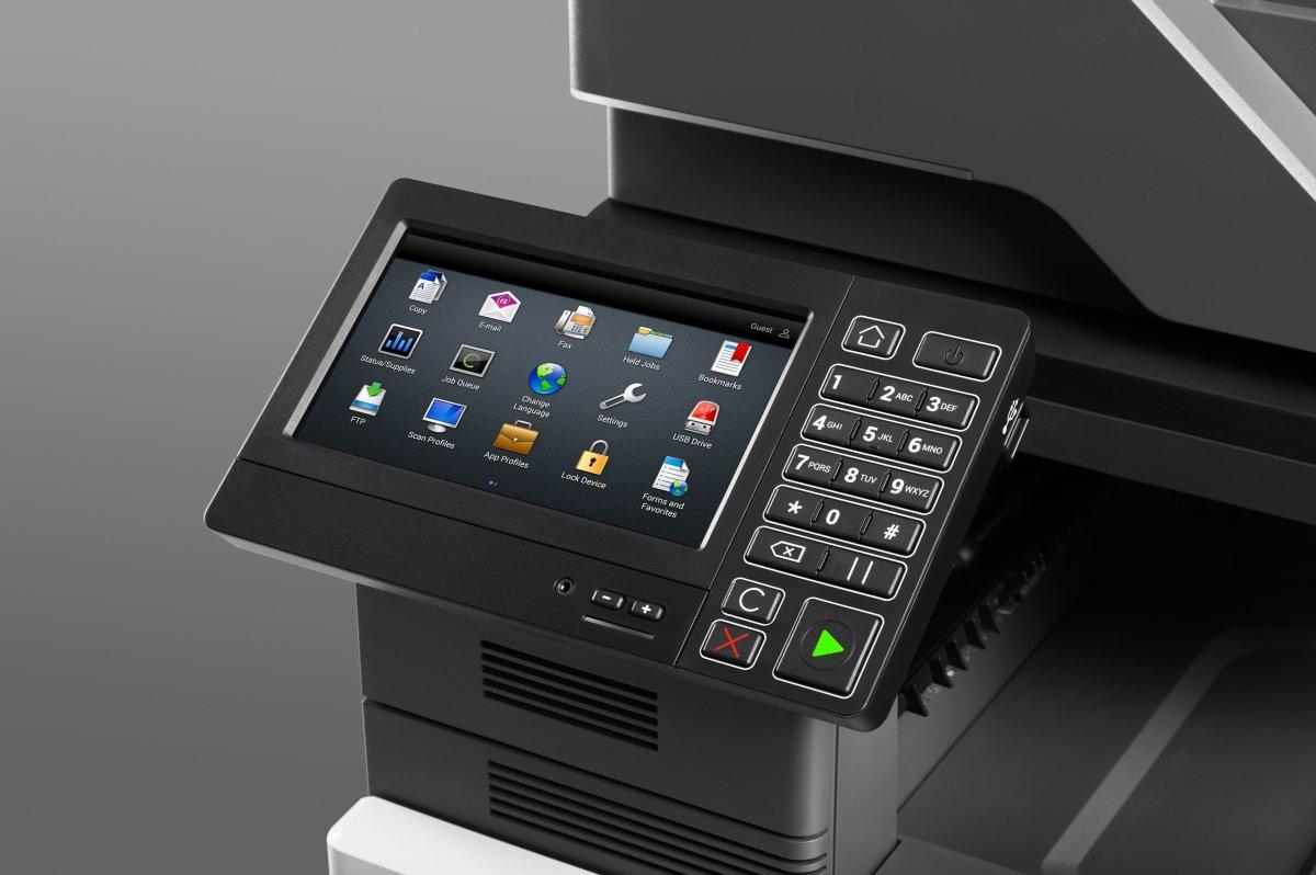 Lexmark CX827de multi-farvelaserprinter