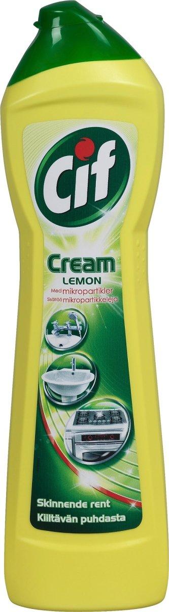 Cif Skurecreme Cream Lemon,  0,5 L