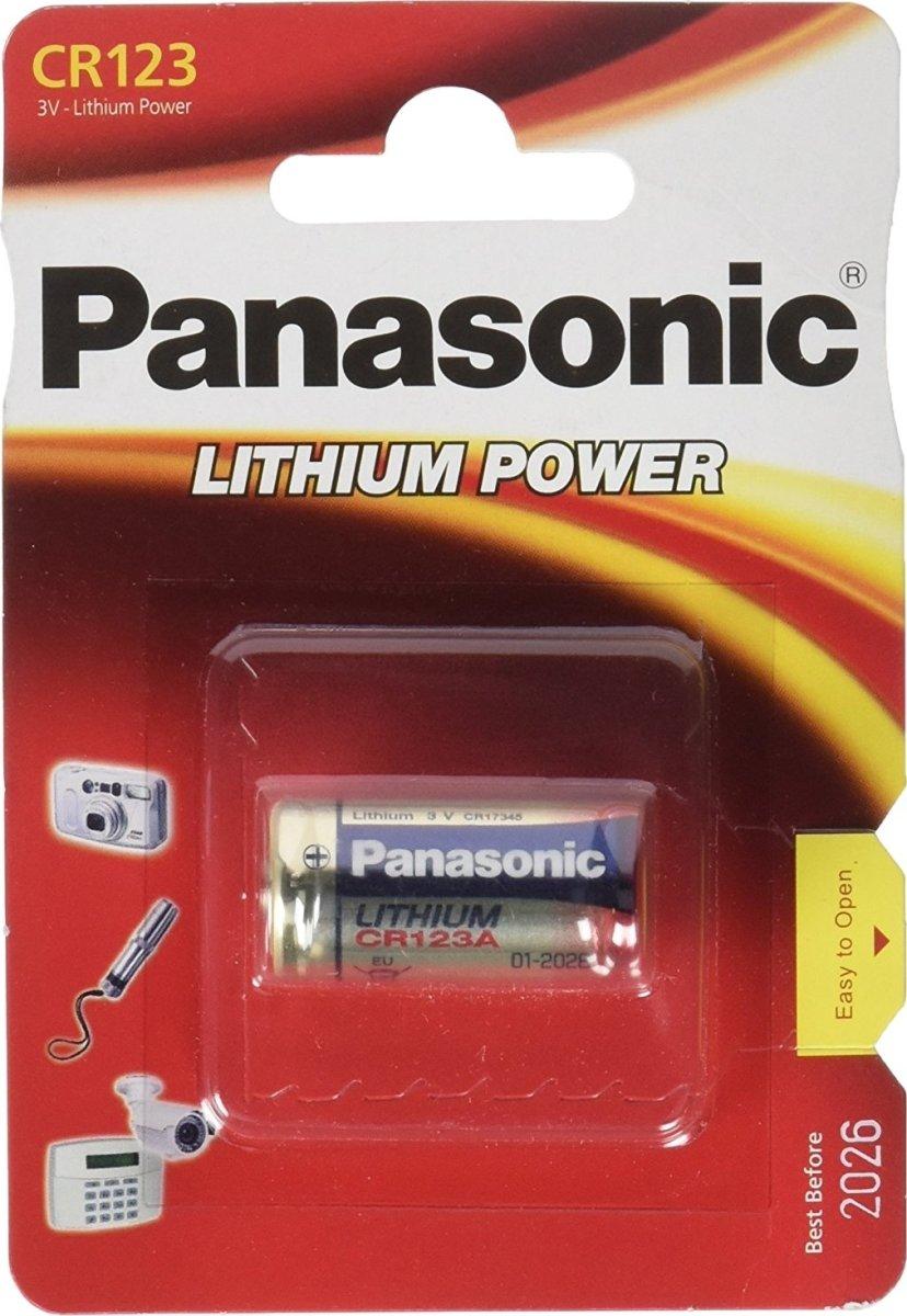 Panasonic CR123A Batteri