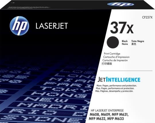 HP 37X lasertoner, sort, 25.000s