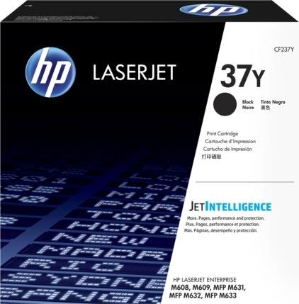 HP 37Y (CF237Y) lasertoner, sort, 41.000s