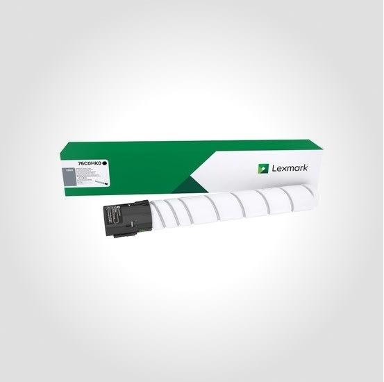 Lexmark CS923 lasertoner, sort, 34.000s