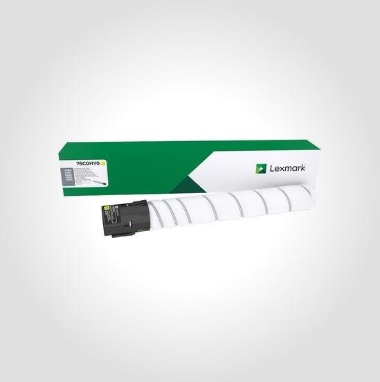 Lexmark CS923/CX92X lasertoner, gul, 34.000s