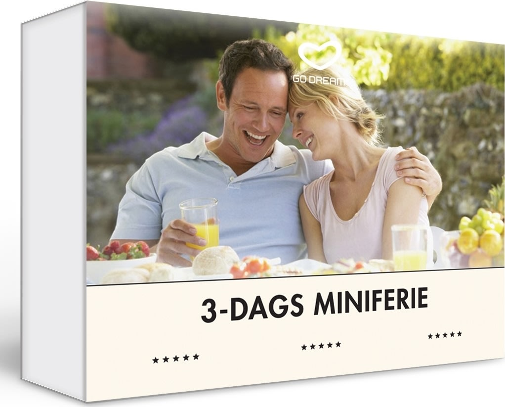 Oplevelsesgave - 3-dags miniferie for 2