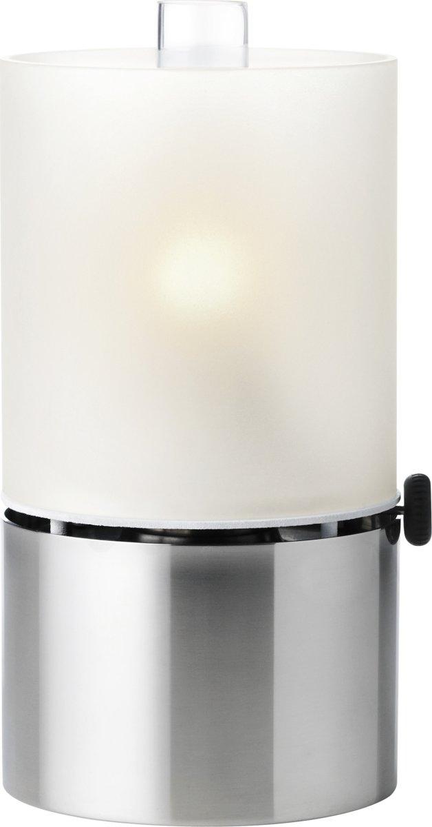 Stelton EM Olielampe, frostet glas