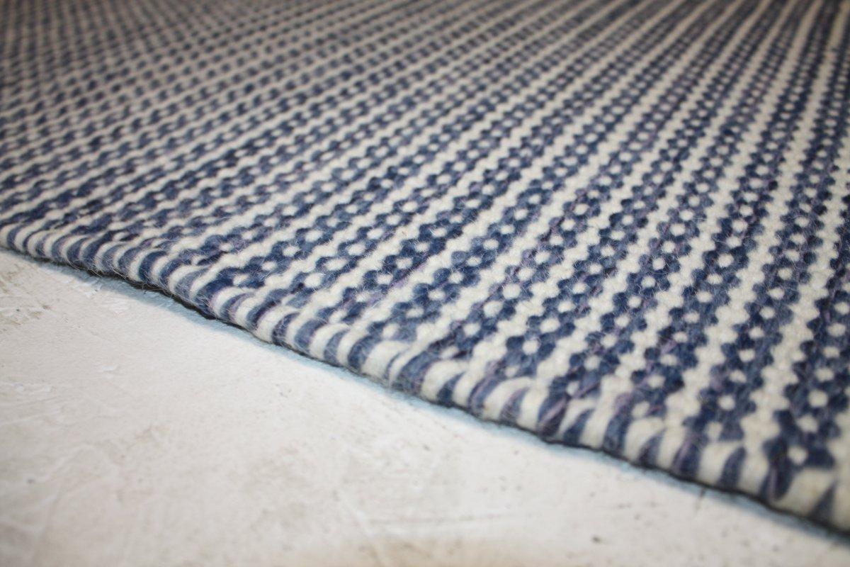 Pilas tæppe, Ø 60x120 cm., aqua