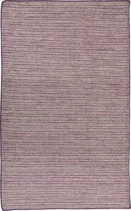 Wilma tæppe, 140x200 cm., lilla