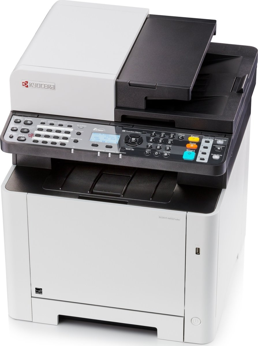 Kyocera ECOSYS M5521cdw A4 MFP farvelaserprinter