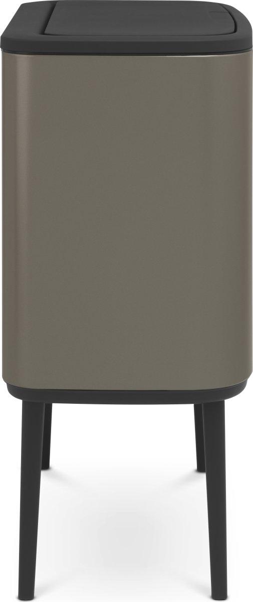 Brabantia BO Touch Bin 36 L, platinum