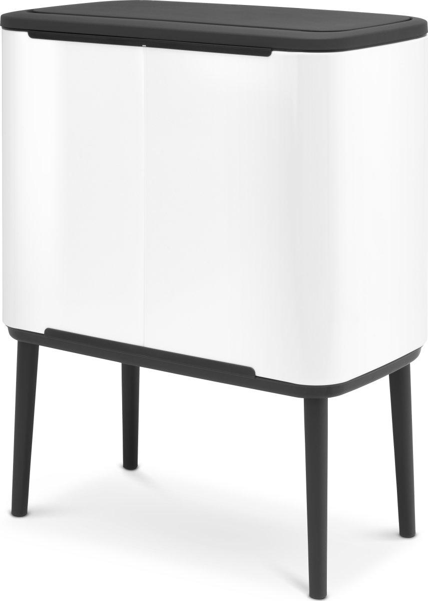 Brabantia BO Touch Bin 36 L, white