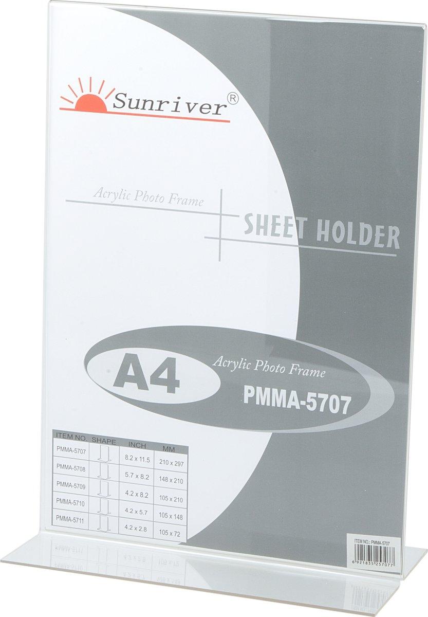Brochureholder menukort A4