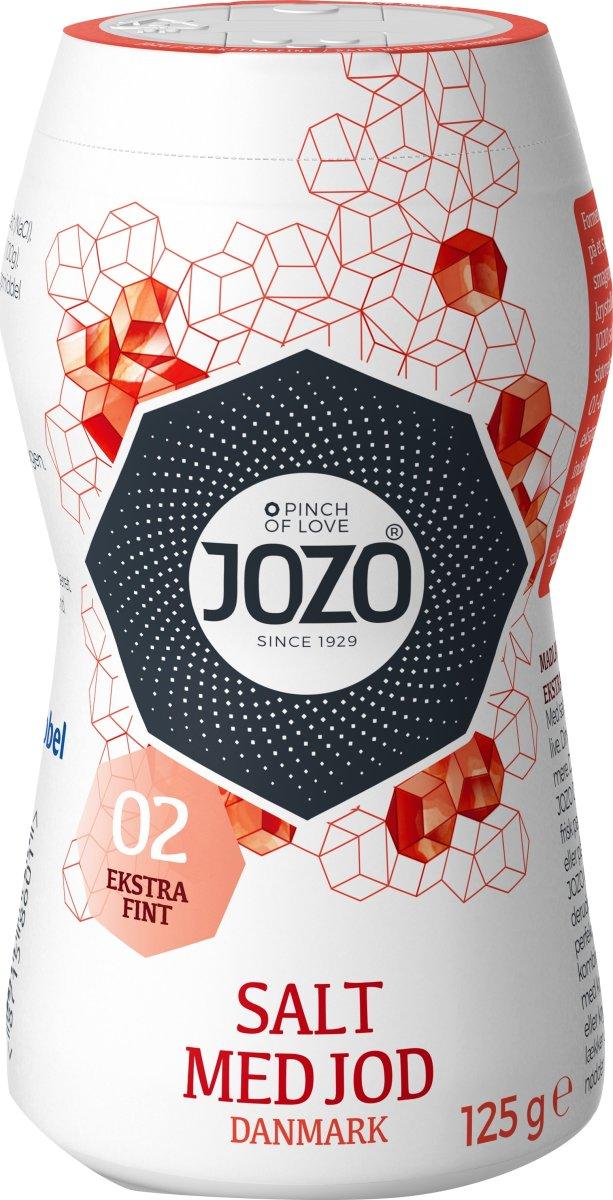 Jozo Ekstrafint Bordssalt, 125 g