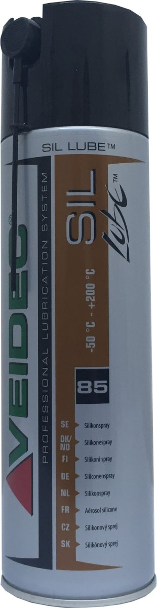 Silikonespray til løbebånd, 500 ml