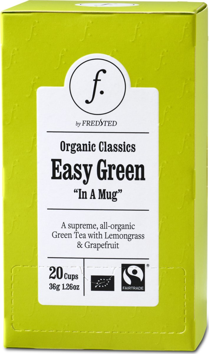 Fredsted Organic Classics Easy Green Te, 20 brev
