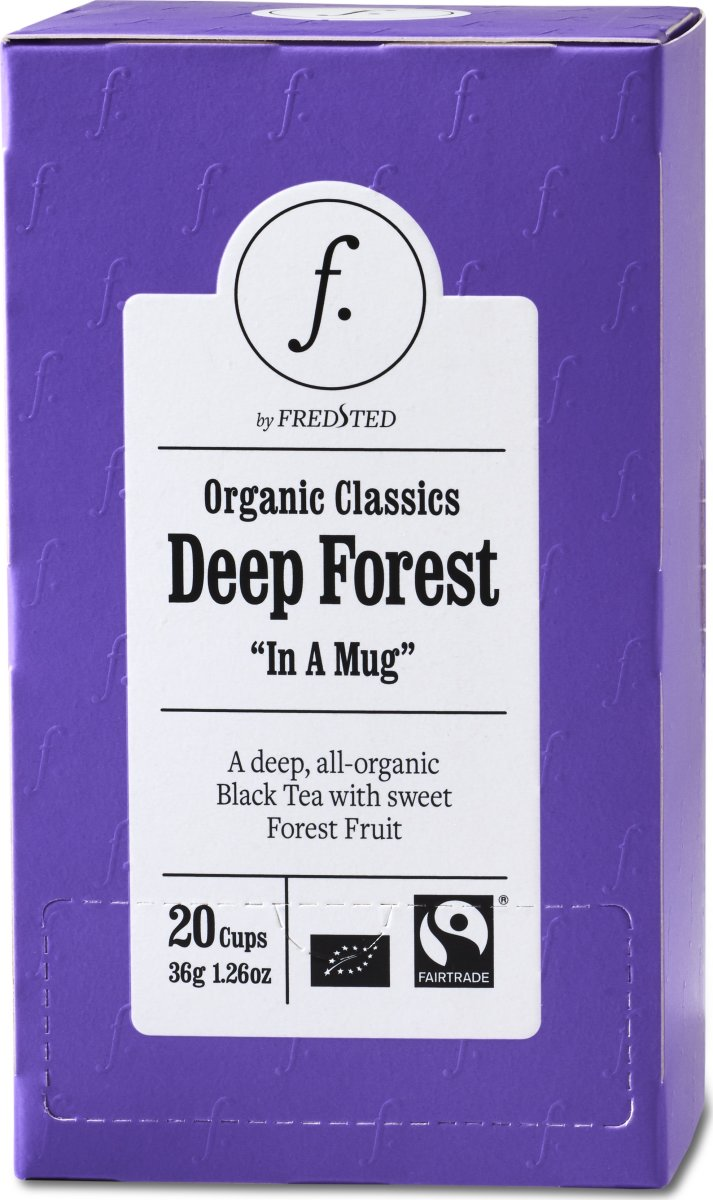 Fredsted Organic Classics Deep Forest Te, 20 breve