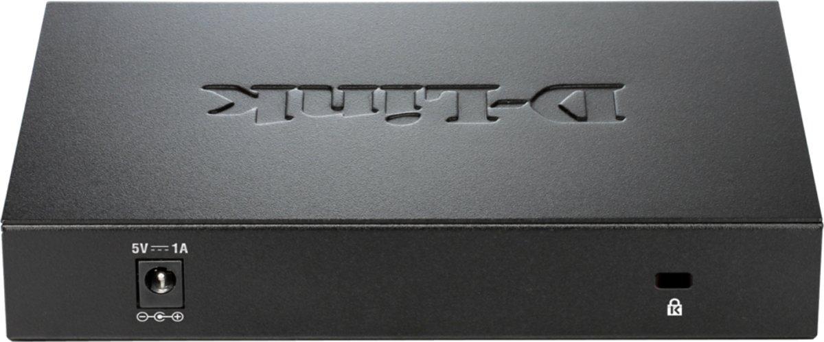 D-Link DGS-108 Switch, 8 ports 10/100/1000