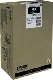 Epson T9741 blækpatron, sort, 86000s