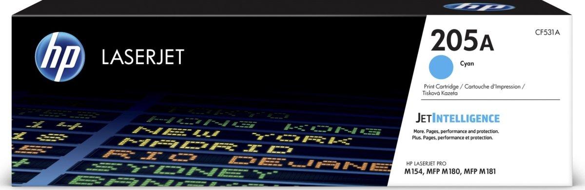 HP LaserJet 205A lasertoner, cyan, 900s