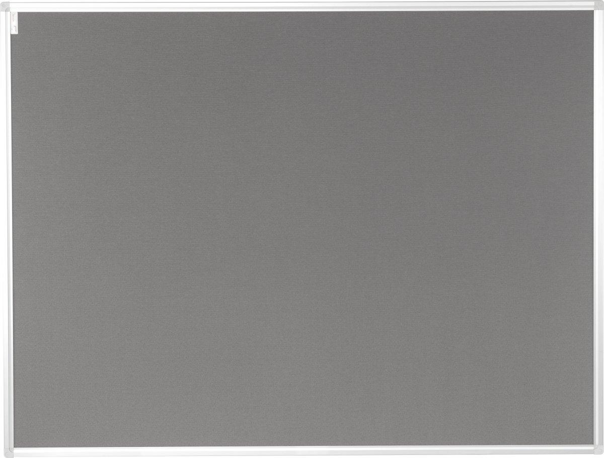 Vanerum opslagstavle 102,5x152,5 cm, grå filt
