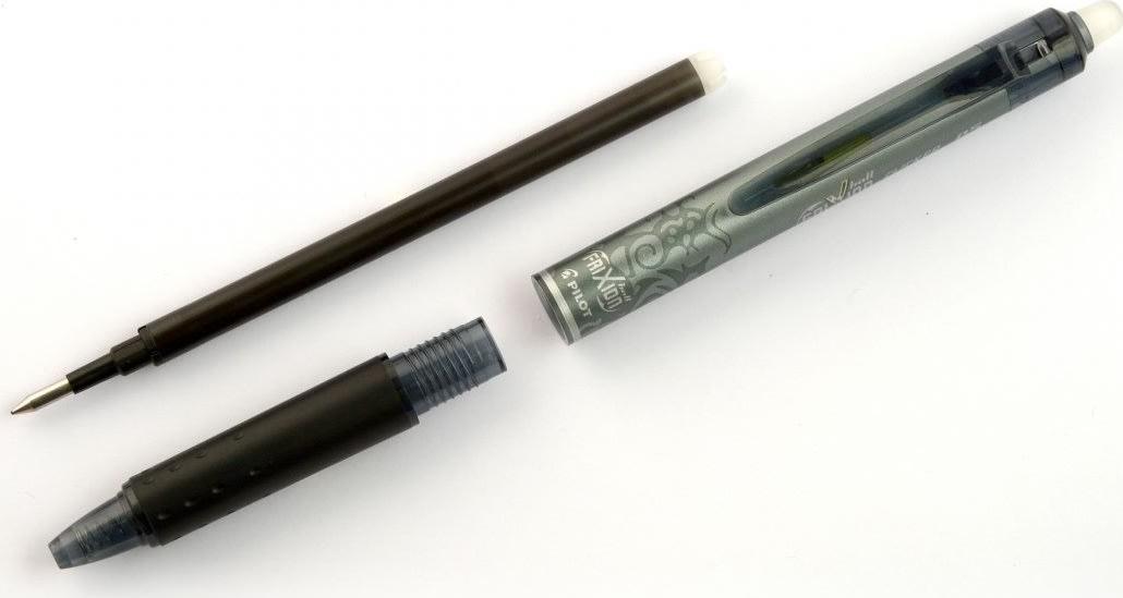 Pilot Frixion Clicker kuglepen, 0,5 mm, blå