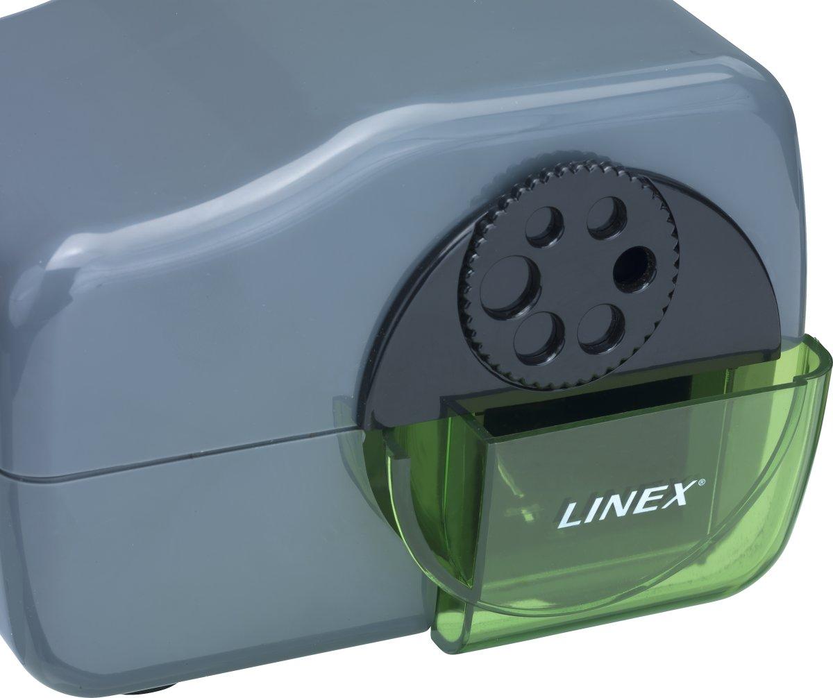 Linex Elektrisk Blyantspidser med 6 huller